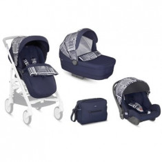 TRILOGY SYSTEM 3 IN 1 - COLECTIA OPTICAL - NAVY - Carucior copii 3 in 1 Inglesina