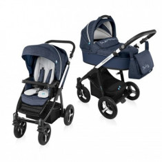 Carucior Multifunctional 2 In 1 Husky Wp 03 Navy 2016 - Carucior copii 2 in 1 Baby Design