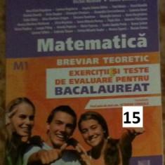 Culegere Matematica BAC - Manual scolar Altele, Clasa 12