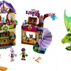 Lego Elves 41176 The Secret Market Place Piata secreta 691piese 2 figurine NOU