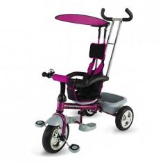 Tricicleta DHS Scooter Plus multifunctionala mov - Tricicleta copii