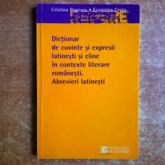 C. Popescu, E. Cretu - Dictionar de cuvinte si expresii latinesti si eline in contexte literare romanesti - Eseu