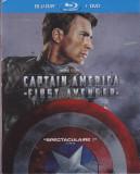 Film Blu Ray : Captain America ( 2 discuri - subtitrare in lb.engleza ), BLU RAY 3D