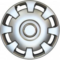 Set capace roti Opel Combo, pe 14 inch, culoare Silver, 14-206