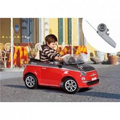 Fiat 500 Red/Grey - Telecomanda - Masinuta electrica copii Peg Perego