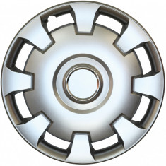 Set capace roti Opel Astra G, pe 14 inch, culoare Silver, 14-206