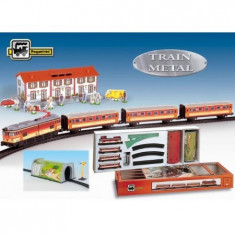 Trenulet Pequetren Electric Calatori, Cu Statie Si Tunel