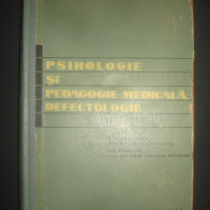 P. P. NEVEANU - PSIHOLOGIE MEDICALA, DEFECTOLOGIE * MANUAL 1962 - Carte Psihiatrie