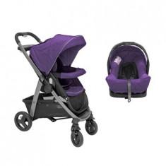 Carucior Transformabil Sky 2 in 1 Purple Shadow - Carucior copii 2 in 1 Graco