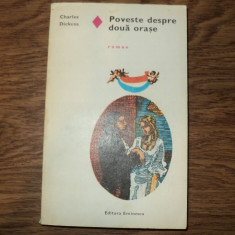 Poveste despre doua orase de Charles Dickens