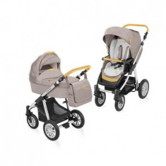 Carucior 2 In 1 Dotty Denim 09 Beige 2015 - Carucior copii 2 in 1 Baby Design