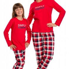 Pijama dama EDITIE LIMITATA, colectia Simply Together - Pijamale dama, Marime: 40, 42, 44, Culoare: Rosu