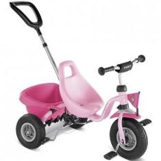 Tricicleta cu maner -2369 - Tricicleta copii Puky