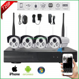 Kit supraveghere video IP wireless NVR 4 camere