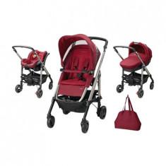 Carucior Trio Loola Excel Robin Red - Carucior copii 3 in 1 Bebe Confort