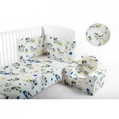 Lenjerie Patut 3 Piese 101 Dalmatieni - Lenjerie pat copii BebeDeco