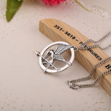 Cumpara ieftin Pandantiv cu lantisor Jocurile Foamei (Hunger Games) pasare Mockingjay