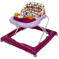 Premergator Dhs Snappy Cu Roti De Silicon Violet, 0-6 luni