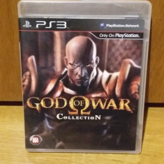 PS3 God of war collection (1+2 remasterizate HD) - joc original by WADDER - Jocuri PS3 Sony, Actiune, 18+, Single player