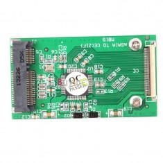 Adaptor Mini PCI-E mSATA SSD la 40pin ZIF - Adaptor interfata PC