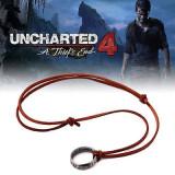 Pandantiv Colier Lantisor Medalion Uncharted 4 inel Nathan Drake