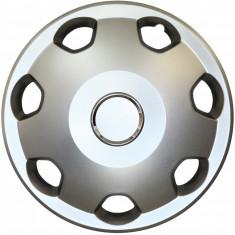 Set capace roti Opel Corsa C, pe 13 inch, culoare Silver, 13-106