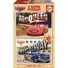 Puzzle Educa Cars 2x25