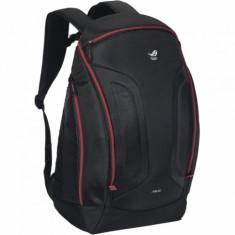 Rucsac Asus Shuttle - Geanta laptop Asus, 17 inch, Poliester, Negru