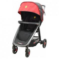 Carucior Fastfold (Metro) Ferrari Black - Carucior copii Sport Osann