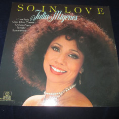 Julia Migenes ‎– So In Love _ vinyl, LP, album, Germania - Muzica Pop ariola, VINIL