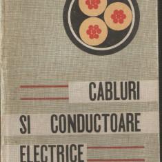 Cabluri si conductoare electrice - Carti Electrotehnica