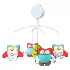 Carusel muzical Owls - Carusel patut Baby Mix
