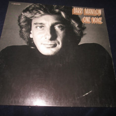 Barry Manilow ‎– One Voice _ vinyl(LP, album) Germania - Muzica Pop arista, VINIL
