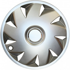 Set capace roti Opel Astra F, pe 14 inch, culoare Silver, 14-210
