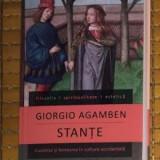 Stante : Cuvantul si fantasma in cultura occidentala / Giorgio Agamben - Filosofie