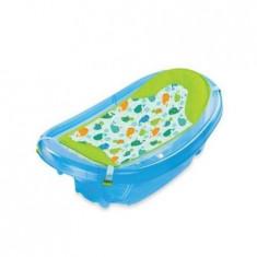 Set Cadita Si Suport De Baita Sparkle And Splash Blue - Cadita bebelusi Summer Infant