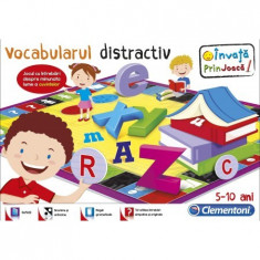 Joc Educativ - Vocabular Distractiv - 60441 Clementoni