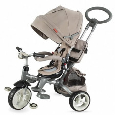 Tricicleta Coccolle Modi Multifunctionala Bej - Tricicleta copii