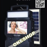 GADGET! TELEVIZOR SOLAR,RADIO,MP3 USB,PANOU SOLAR,LUMINA LED+ANTENA TV BONUS!