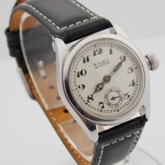 Rolex Oyster - Ceas barbatesc Rolex, Mecanic-Manual, Piele, Analog, Diametru carcasa: 30