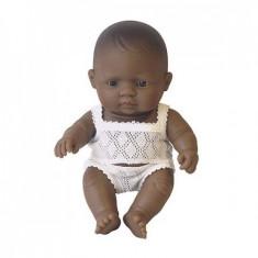 Papusa MINILAND Bebelus Fetita Latinoamericanca21 Cm