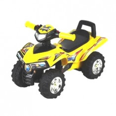 ATV pentru copii Explorer - galben Baby Mix