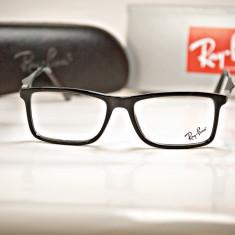 Rama de ochelari de vedere Ray Ban RB7023 C8 - Rama ochelari Ray Ban, Unisex, Negru, Plastic, Rama intreaga, Fashion