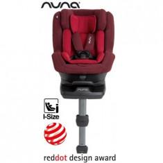 Scaun Auto Cu Isofix Rebl 360 Isize Berry - Scaun auto copii Nuna, 0+ (0-13 kg), Opus directiei de mers