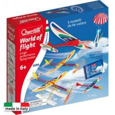 Word of Flight - Avion de jucarie Quercetti