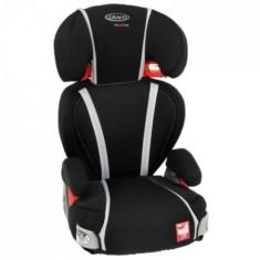 Scaun Auto Logico Lx Comfort Black Stone - Scaun auto copii Graco, 1-2-3 (9-36 kg)
