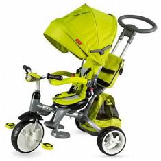 Tricicleta Coccolle Modi Multifunctionala Verde - Tricicleta copii