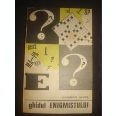 GHEORGHE SANDA - GHIDUL ENIGMISTULUI