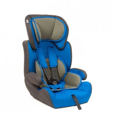 Scaun Auto Safe Rider, Albastru-Gri - Scaun auto copii Juju, 1-2-3 (9-36 kg)
