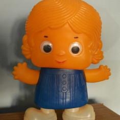 Papusa de plastic anii '80, 30cm, colectie, veche, vintage